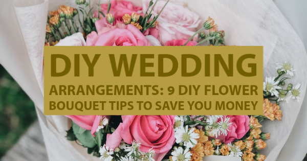 diy flower bouquet